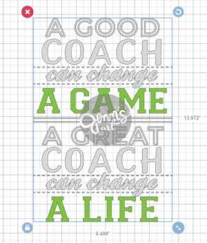 Good Coach Great Coach Download | Jenn's Art Co. SHOP