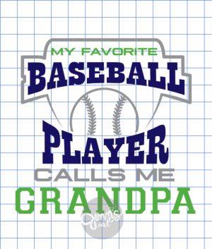 My Favorite Baseball Player Calls Me Grandpa