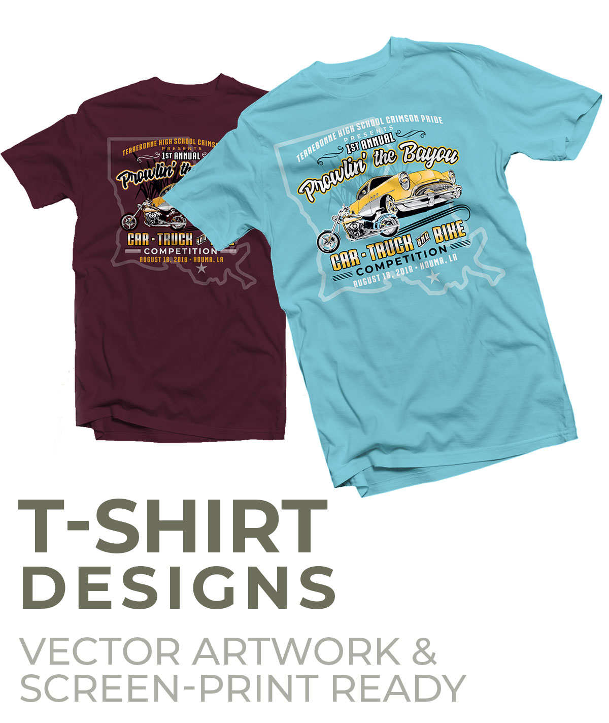T-Shirt Designs | Jenn's Art Company