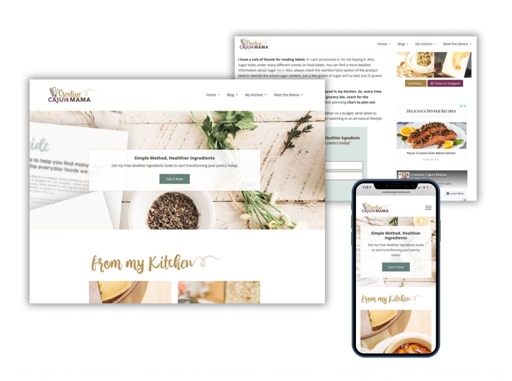 Website Design | Jenn's Art + Design Co.